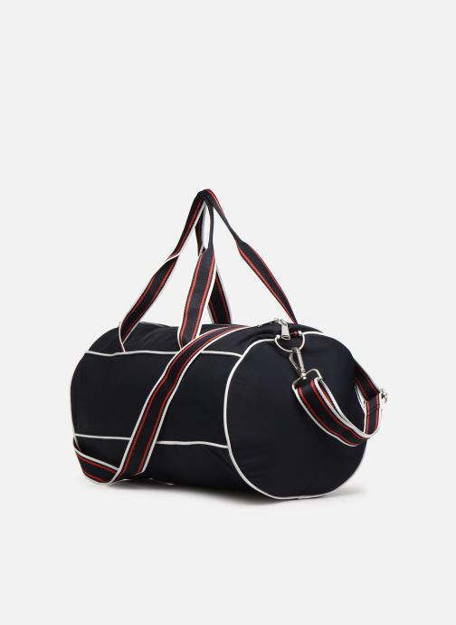 Sacs de sport Fred Perry Retro Branded Barrel Bag Bleu vue droite