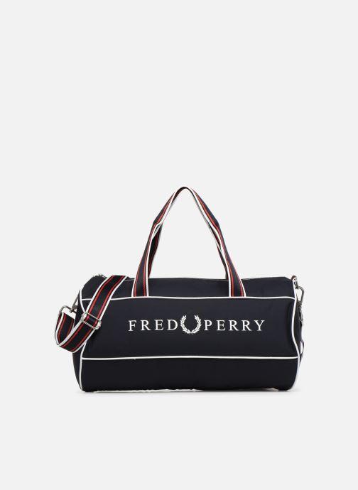 Sacs de sport Fred Perry Retro Branded Barrel Bag Bleu vue détail/paire