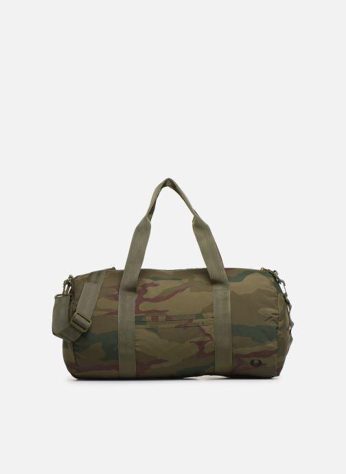 Sacs de sport Fred Perry Camouflage Barrel Bag Vert vue détail/paire