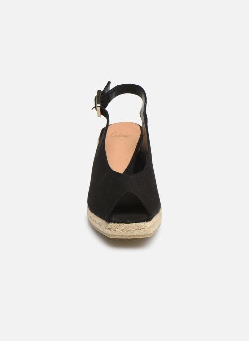Espadrilles Castaner Dosalia H6 Noir vue portées chaussures