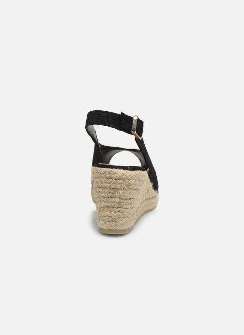 Scarpe di corda Castaner Dosalia H6 Nero immagine destra