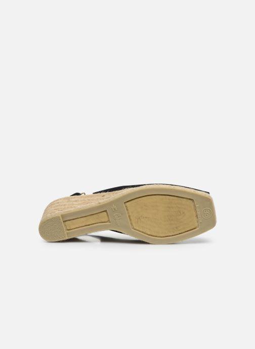 Scarpe di corda Castaner Dosalia H6 Nero immagine dall'alto