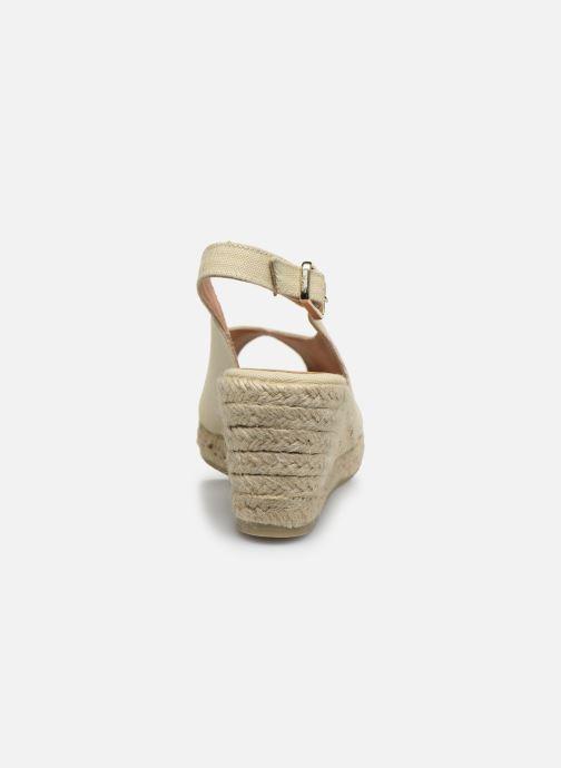 Scarpe di corda Castaner Dosalia H6 Bianco immagine destra