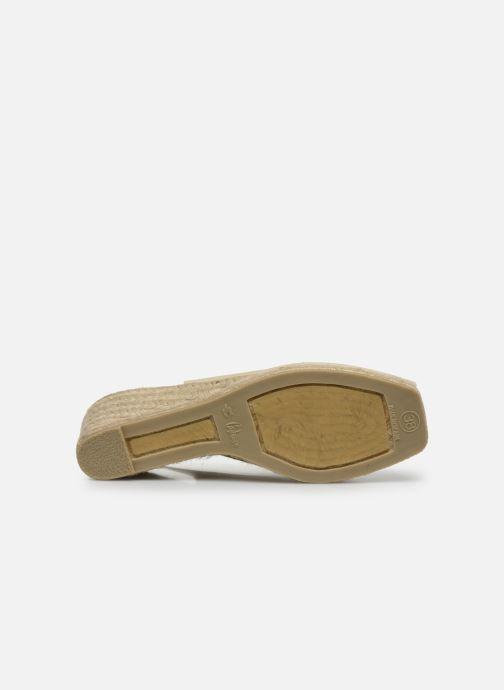 Scarpe di corda Castaner Dosalia H6 Bianco immagine dall'alto