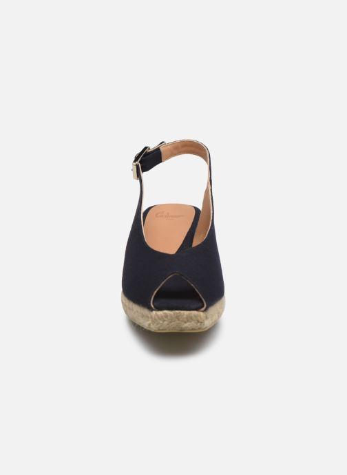 Espadrilles Castaner Dosalia H3 Bleu vue portées chaussures