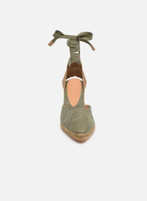 Espadrilles Castaner Joyce T H8 Vert vue portées chaussures
