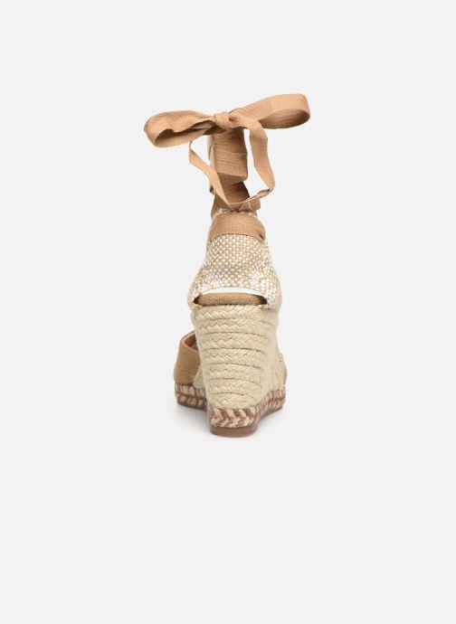 Scarpe di corda Castaner Joyce  H8 Marrone immagine destra