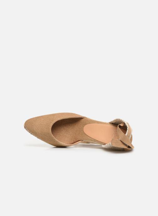 Scarpe di corda Castaner Joyce  H8 Marrone immagine sinistra