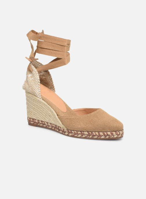 Espadrilles Castaner Joyce  H8 Brown detailed view/ Pair view