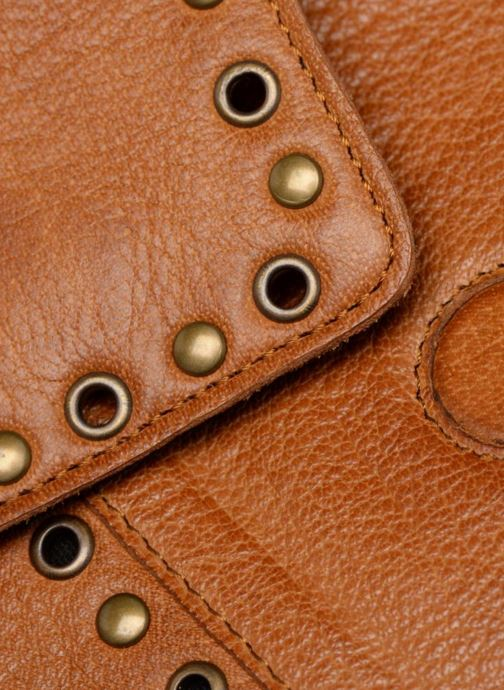 Sacs à main Pieces Kendra Leather Crossbody Marron vue gauche