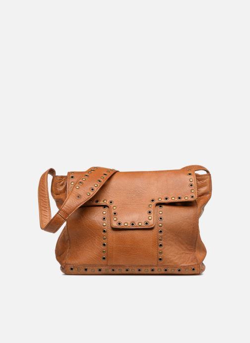Bolsos de mano Pieces Kendra Leather Crossbody Marrón vista de detalle / par
