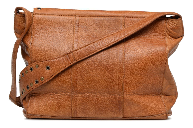 Sacs à main Pieces Kendra Leather Crossbody Marron vue face