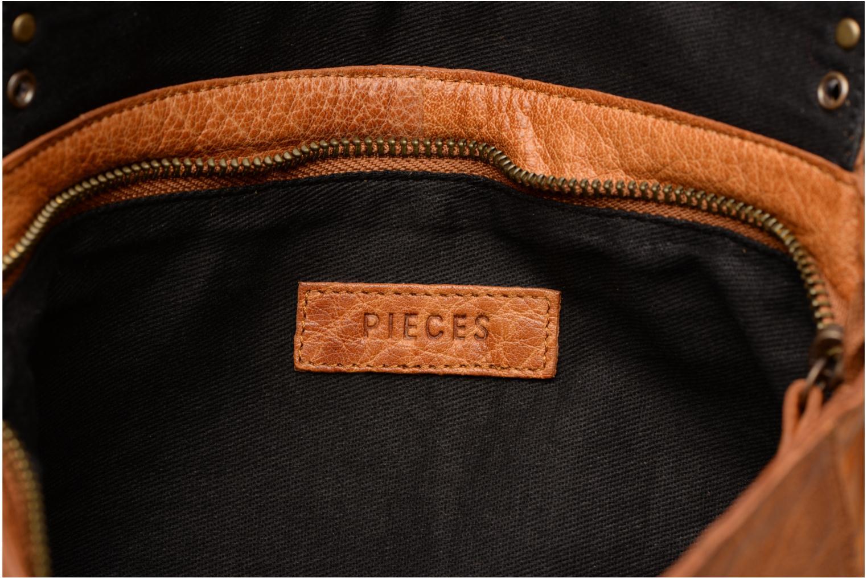 Sacs à main Pieces Kendra Leather Crossbody Marron vue derrière