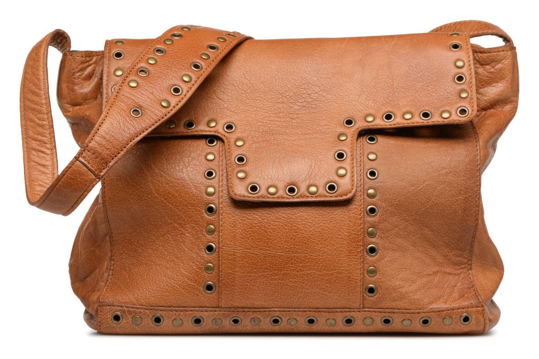 Sacs à main Pieces Kendra Leather Crossbody Marron vue détail/paire