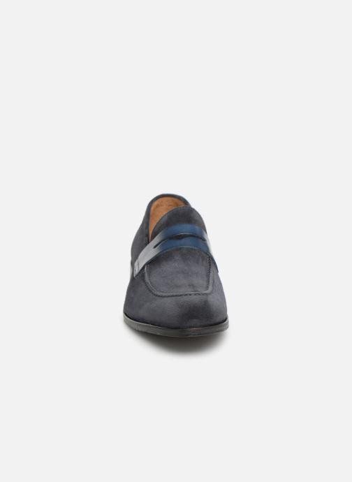 Mocassins Marvin&Co Nathic Bleu vue portées chaussures