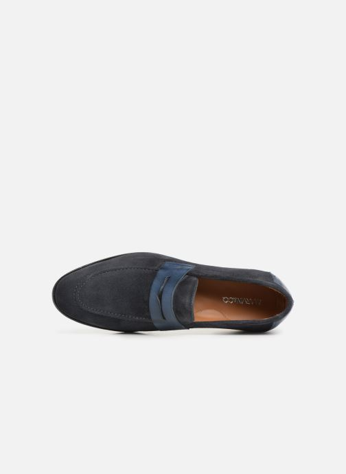 Mocassins Marvin&Co Nathic Blauw links