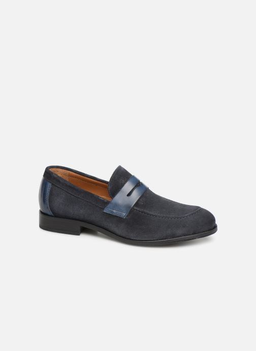 Mocassins Marvin&Co Nathic Blauw detail