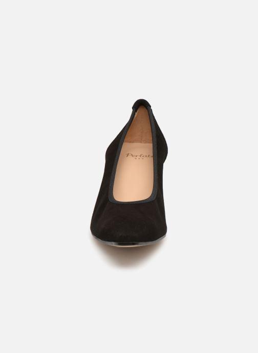 Zapatos de tacón Perlato 10367 Negro vista del modelo