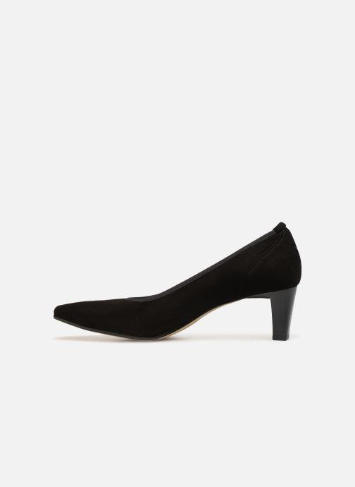 Zapatos de tacón Perlato 10367 Negro vista de frente