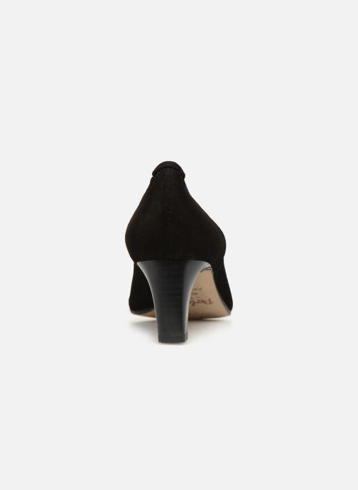 Zapatos de tacón Perlato 10367 Negro vista lateral derecha
