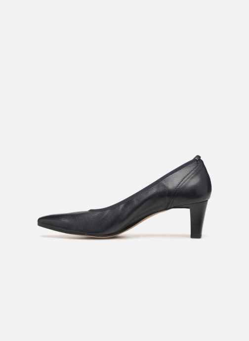 High heels Perlato 10367 Blue front view