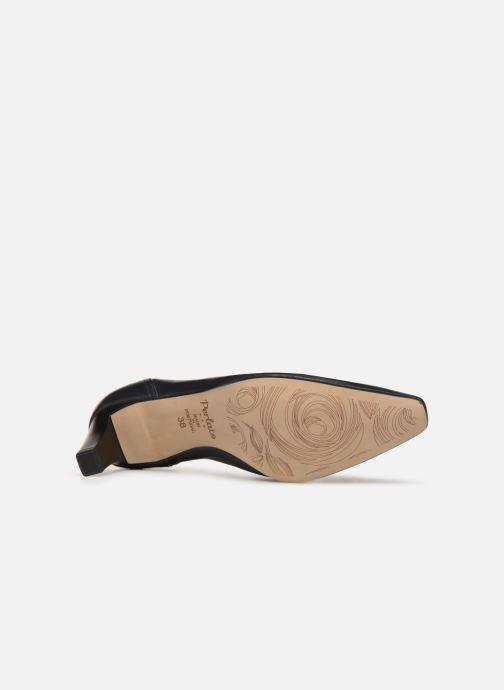 Zapatos de tacón Perlato 10367 Azul vista de arriba