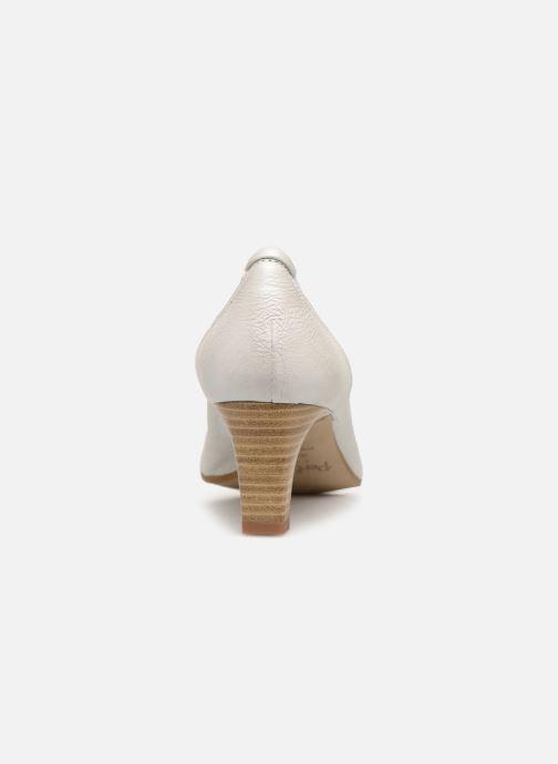 Zapatos de tacón Perlato 10367 Blanco vista lateral derecha