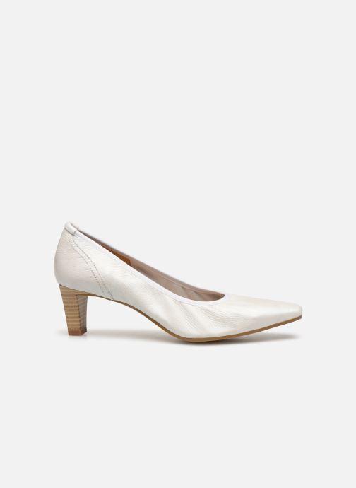 Zapatos de tacón Perlato 10367 Blanco vistra trasera