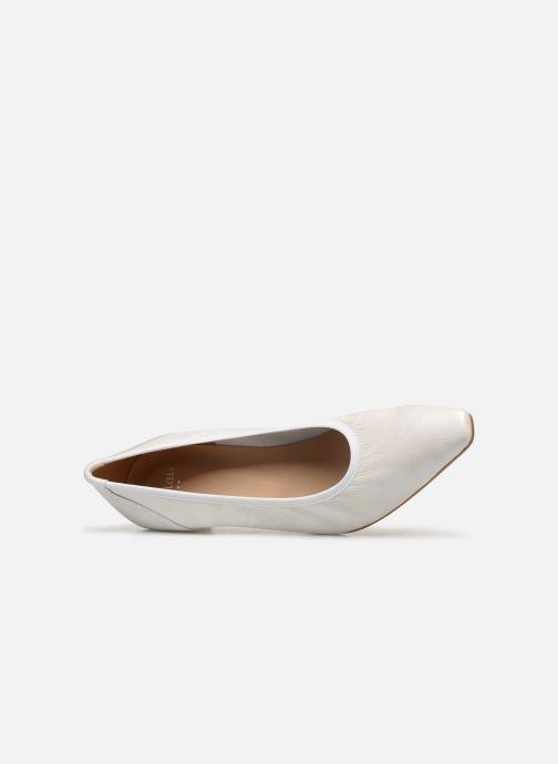 Zapatos de tacón Perlato 10367 Blanco vista lateral izquierda