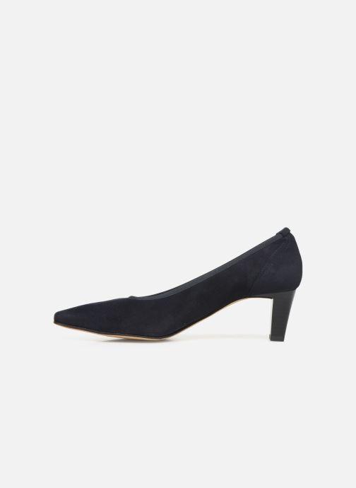 Zapatos de tacón Perlato 10367 Azul vista de frente