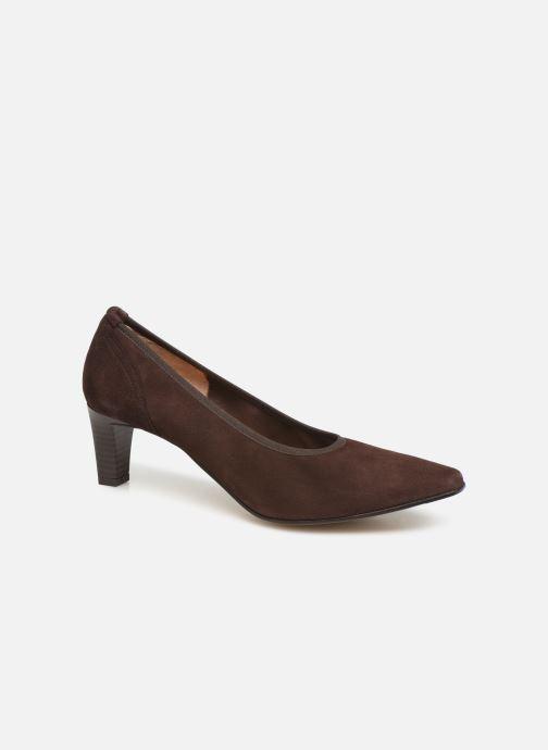 High heels Perlato 10367 Brown detailed view/ Pair view