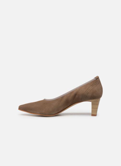Zapatos de tacón Perlato 10367 Marrón vista de frente