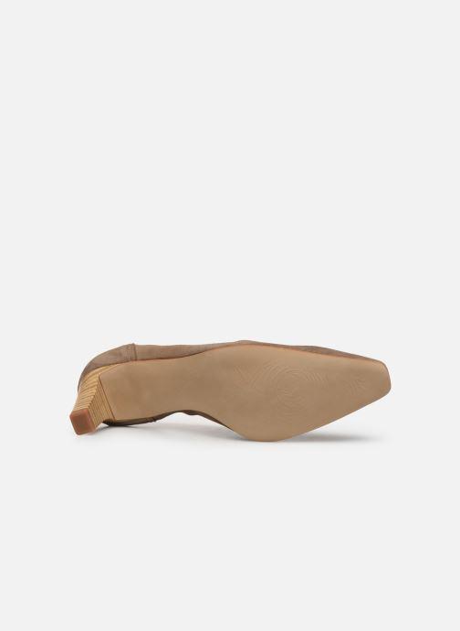 Zapatos de tacón Perlato 10367 Marrón vista de arriba
