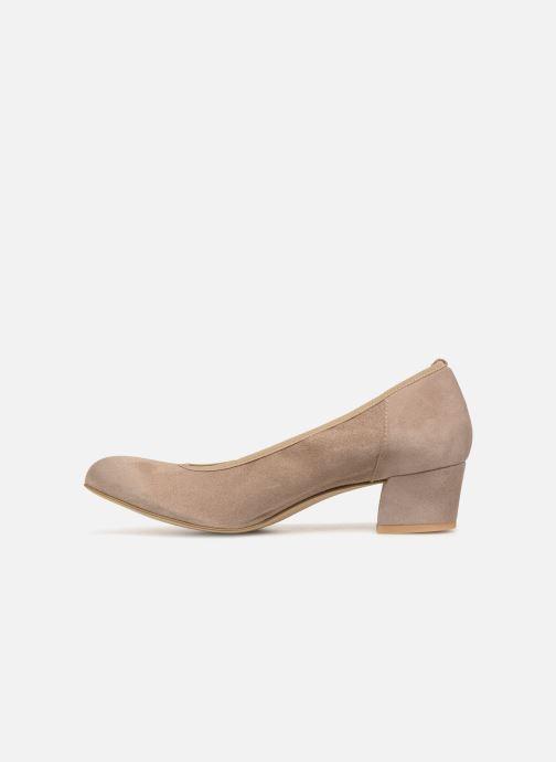 Zapatos de tacón Perlato 10366 Gris vista de frente