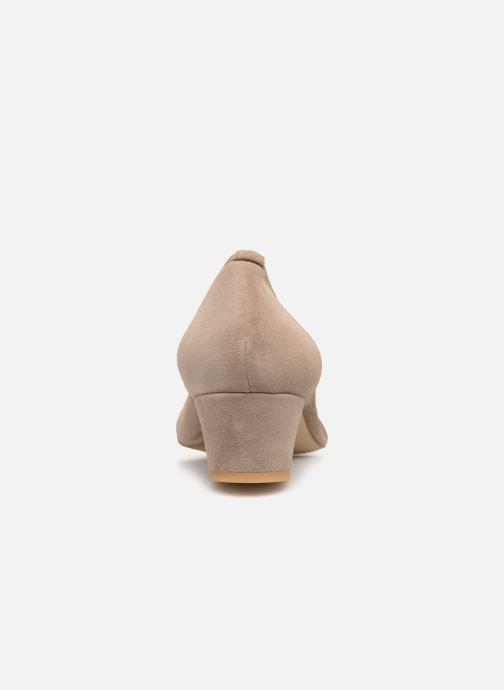 Zapatos de tacón Perlato 10366 Gris vista lateral derecha