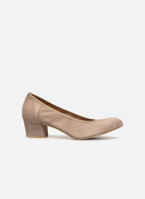 Zapatos de tacón Perlato 10366 Gris vistra trasera