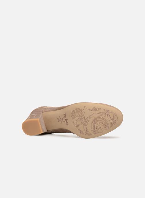 Zapatos de tacón Perlato 10366 Gris vista de arriba