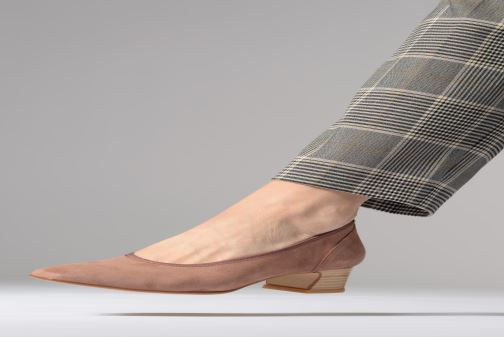 Zapatos de tacón Perlato 11129 Rosa vista de abajo