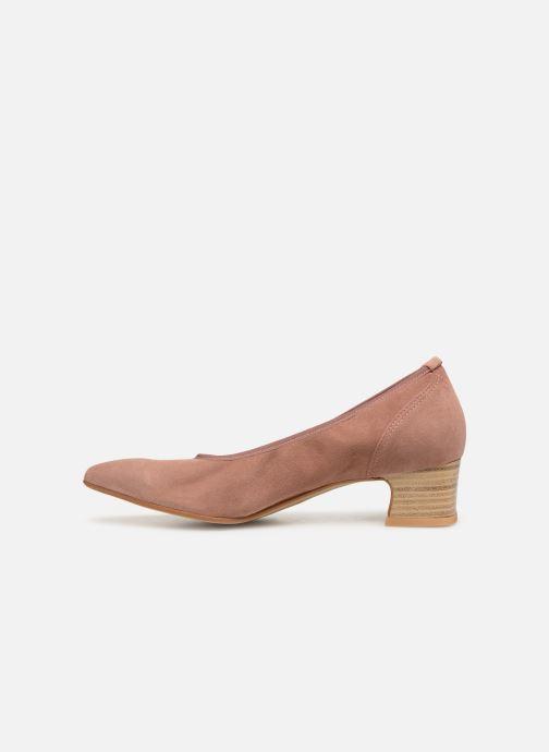 Zapatos de tacón Perlato 11129 Rosa vista de frente