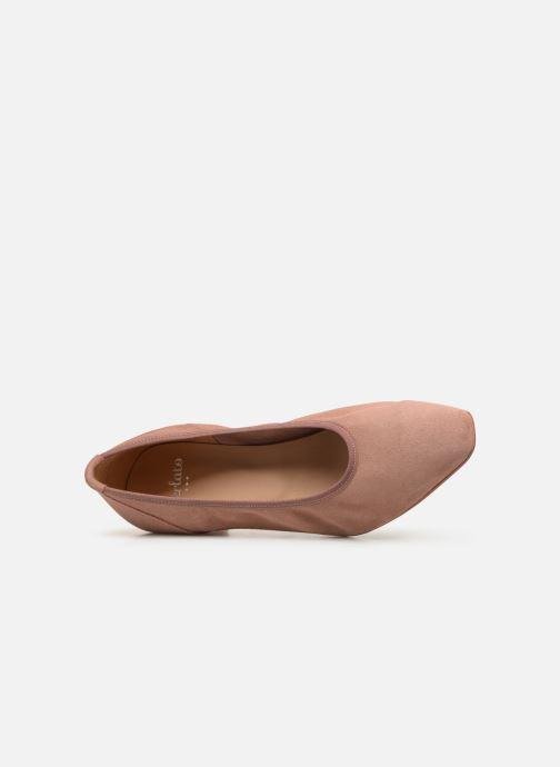 Zapatos de tacón Perlato 11129 Rosa vista lateral izquierda