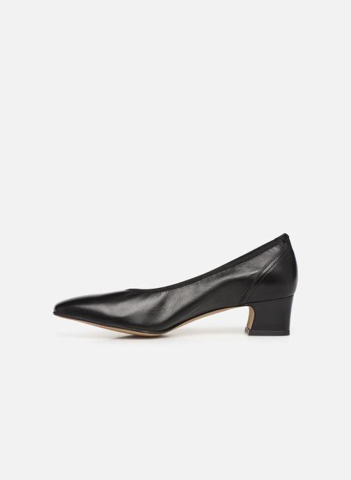 Zapatos de tacón Perlato 11129 Negro vista de frente