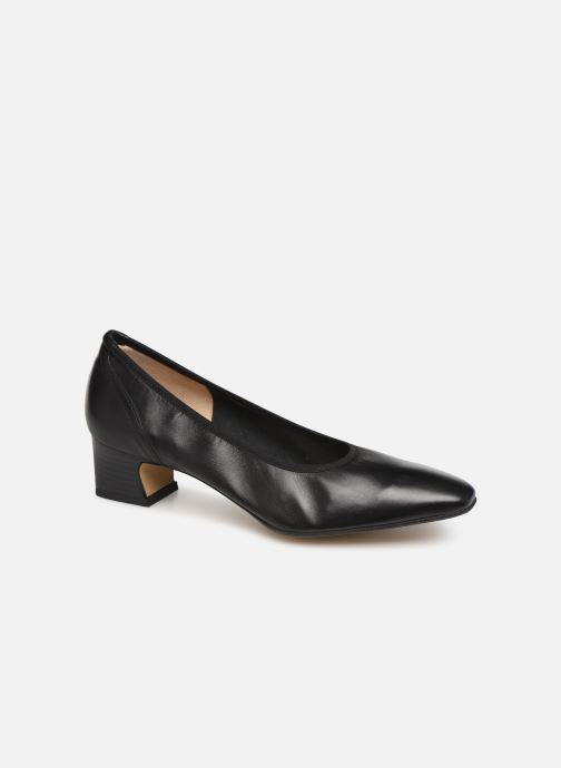 High heels Perlato 11129 Black detailed view/ Pair view