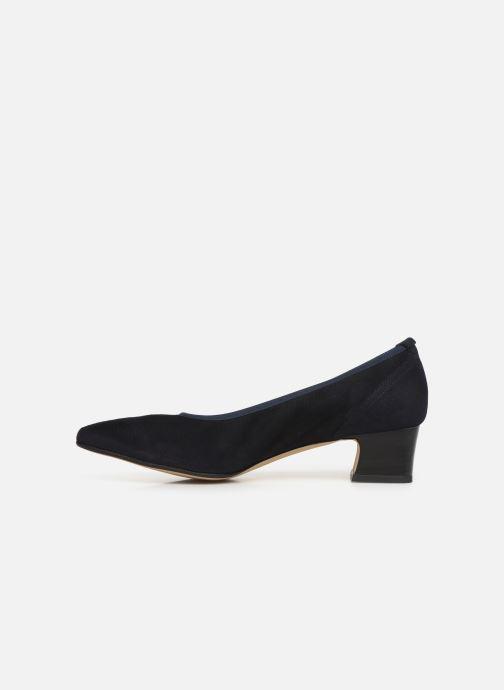 High heels Perlato 11129 Blue front view