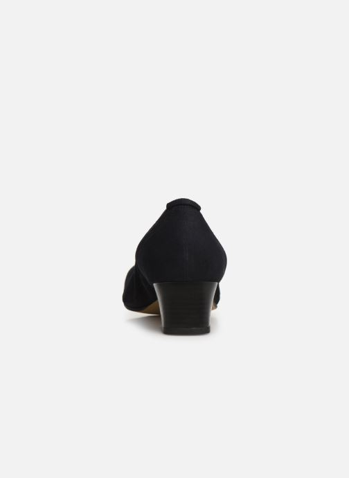 High heels Perlato 11129 Blue view from the right