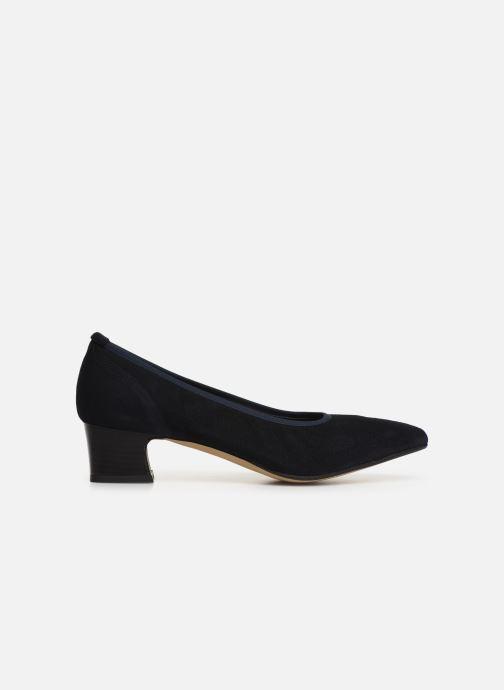 Zapatos de tacón Perlato 11129 Azul vistra trasera
