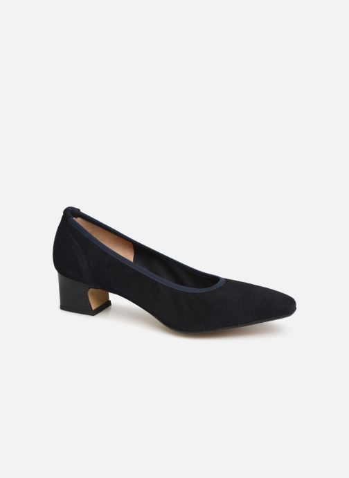 High heels Perlato 11129 Blue detailed view/ Pair view