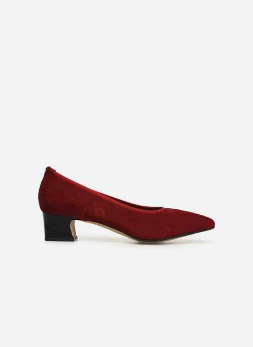 Zapatos de tacón Perlato 11129 Rojo vistra trasera