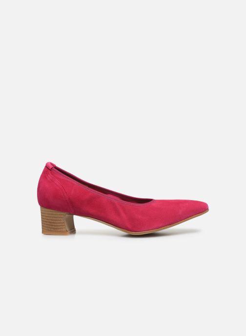Zapatos de tacón Perlato 11129 Rosa vistra trasera