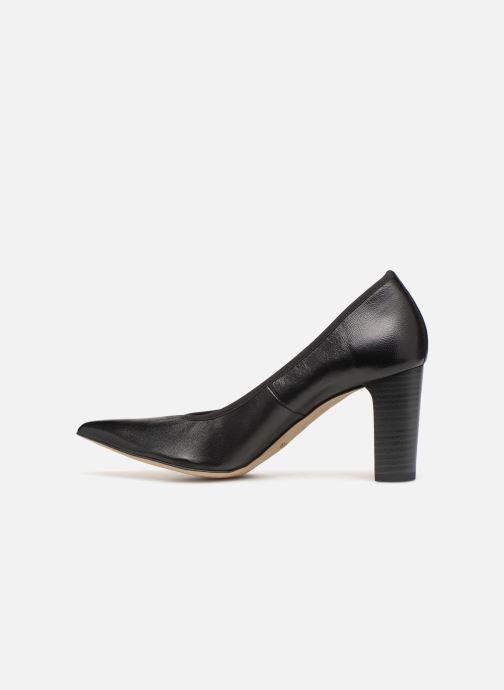 High heels Perlato 11128 Black front view