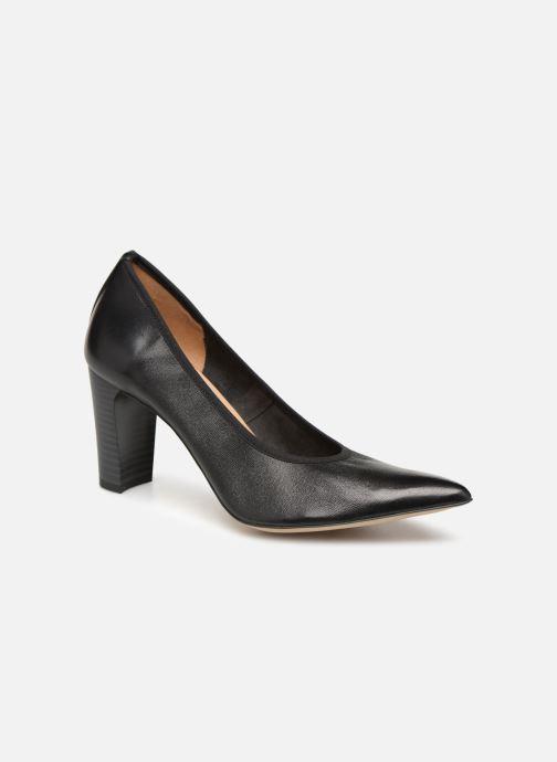 Høje hæle Perlato 11128 Sort detaljeret billede af skoene